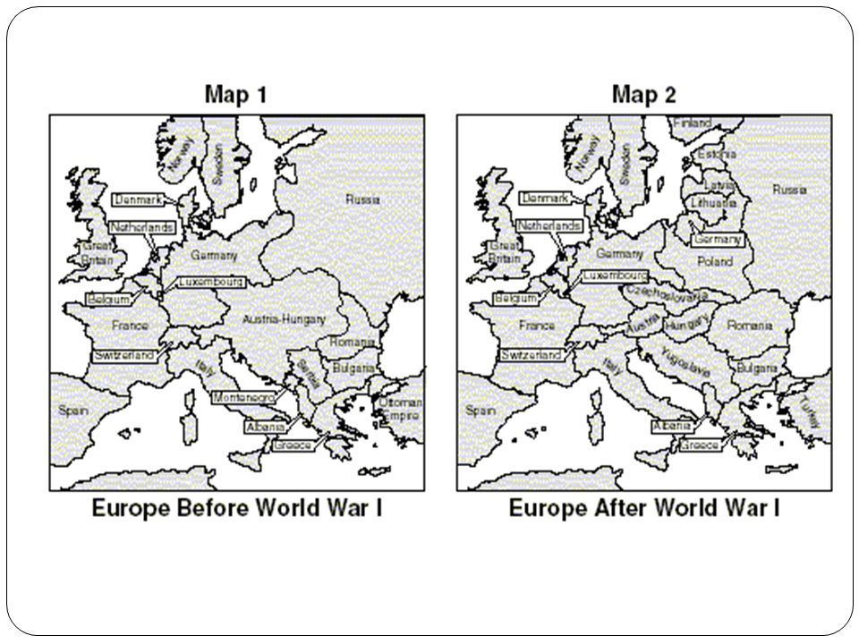 World War 1 Map Black And White. 38 World War I and the Russian Revolution  ppt video online download