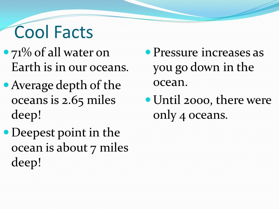 Sea Level Level of the oceans' surfaces Can change in response to the melting of ice during warm periods and/or expanding of glaciers during ice ages Average sea level is rising at a rate of 1 to 2 millimeters per year  because glaciers are melting (indicates a warm period)
