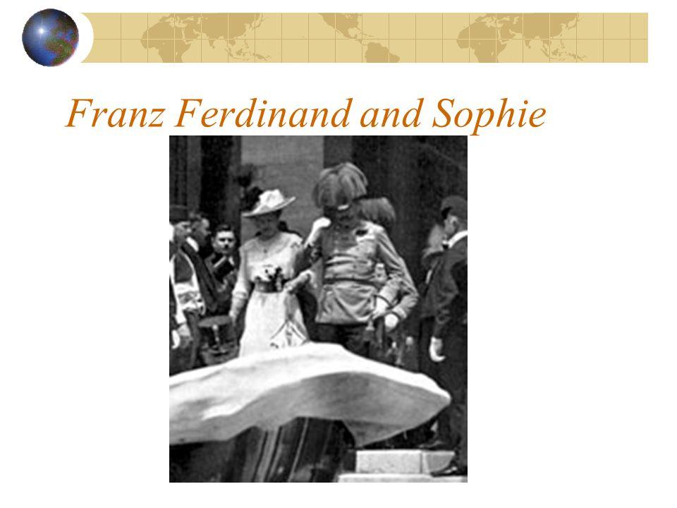 Franz Ferdinand and Sophie