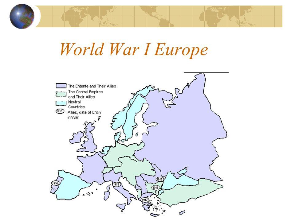 World War I Europe