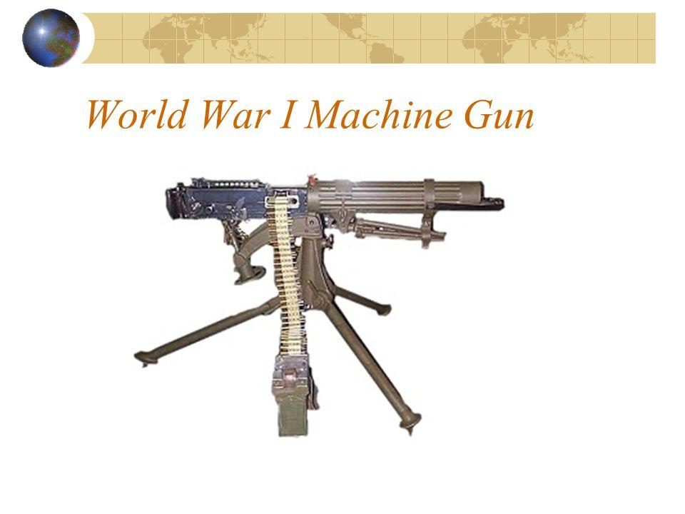 World War I Machine Gun