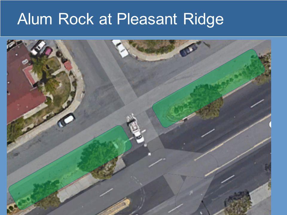 Alum Rock at Pleasant Ridge