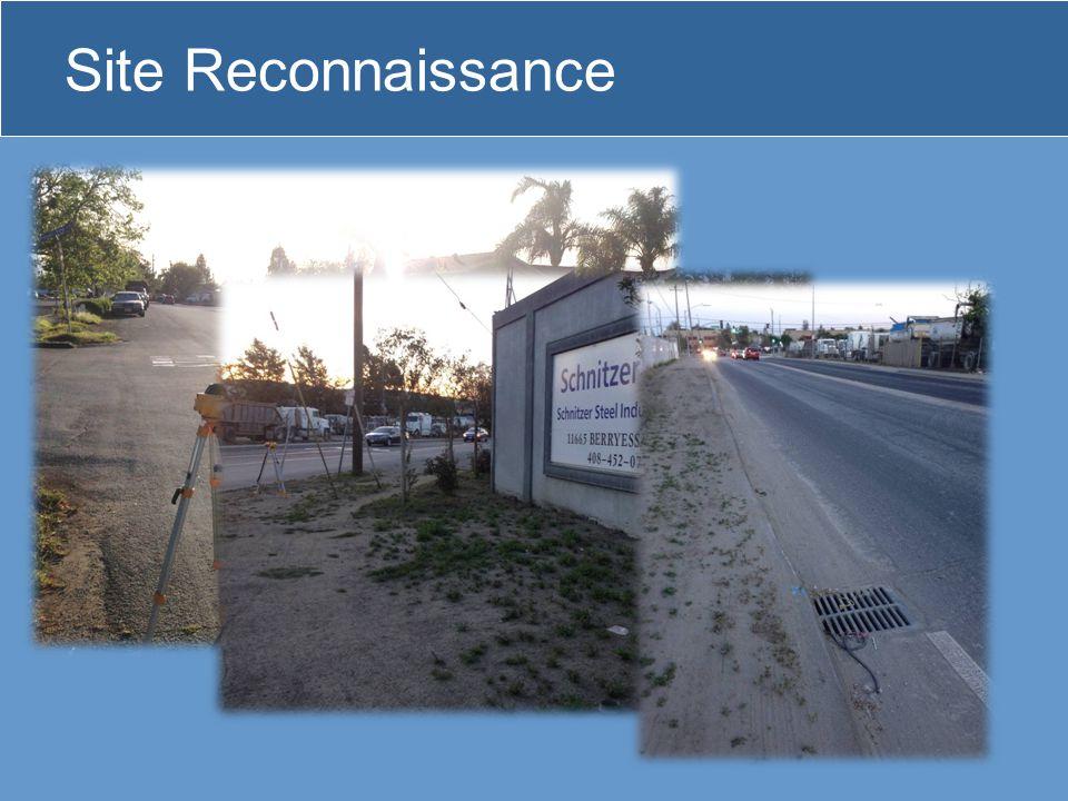 Site Reconnaissance