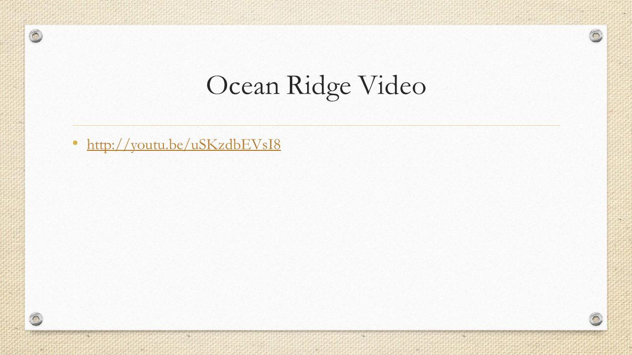Ocean Ridge Video http://youtu.be/uSKzdbEVsI8