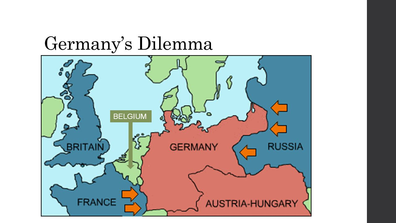 Germany's Dilemma BELGIUM