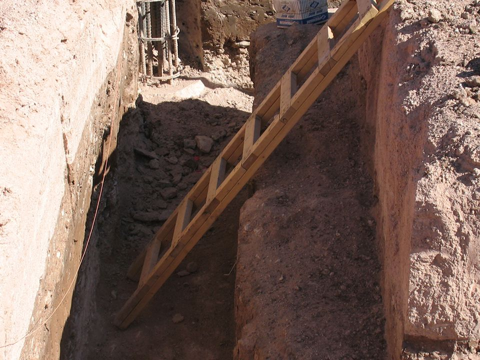  Sloping, benching, shoring and shielding are the main protective systems used. The type of soil determines the sloping angle. Shoring is designed to