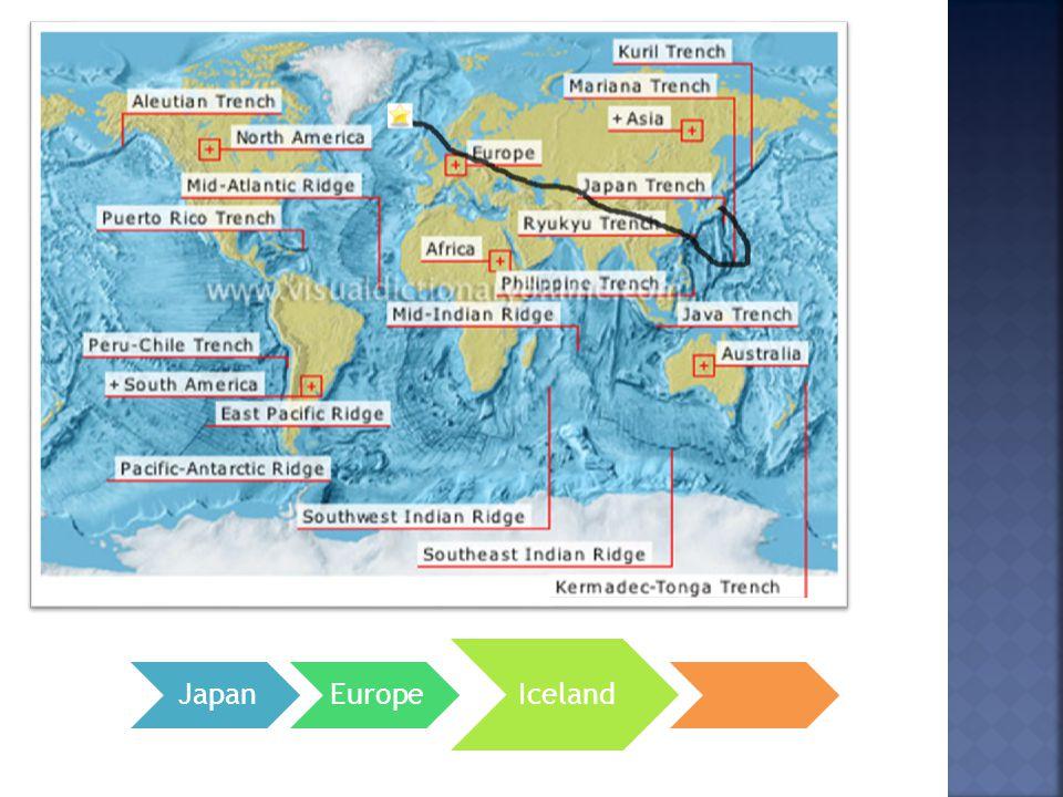 JapanEurope Iceland