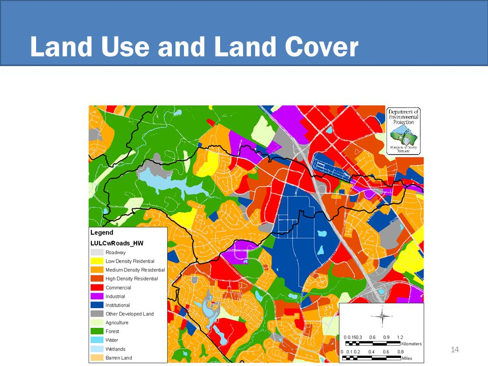 Land Use and Land Cover 14