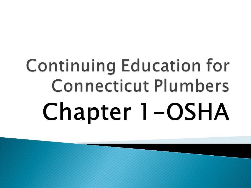 Chapter 1-OSHA
