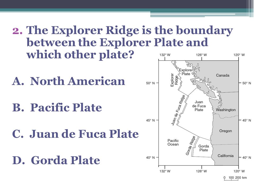 17.At which plate boundary is one lithospheric plate sliding under another.