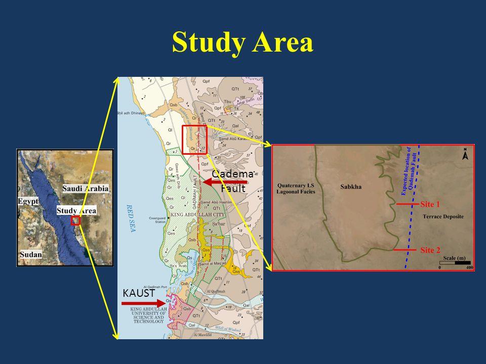 KAUST Qadema Fault Study Area