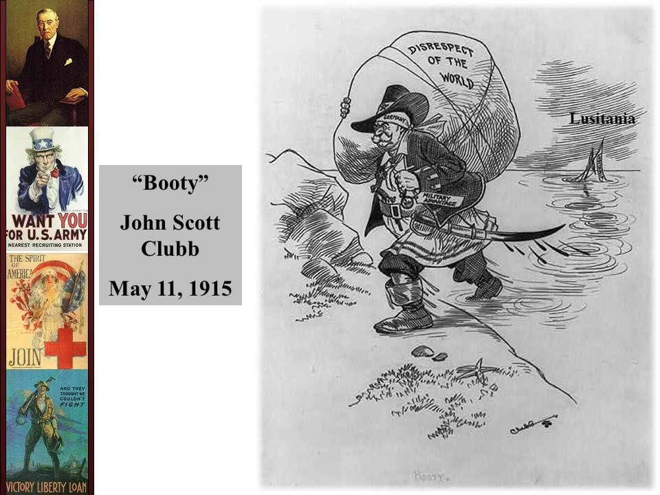 Booty John Scott Clubb May 11, 1915 Lusitania