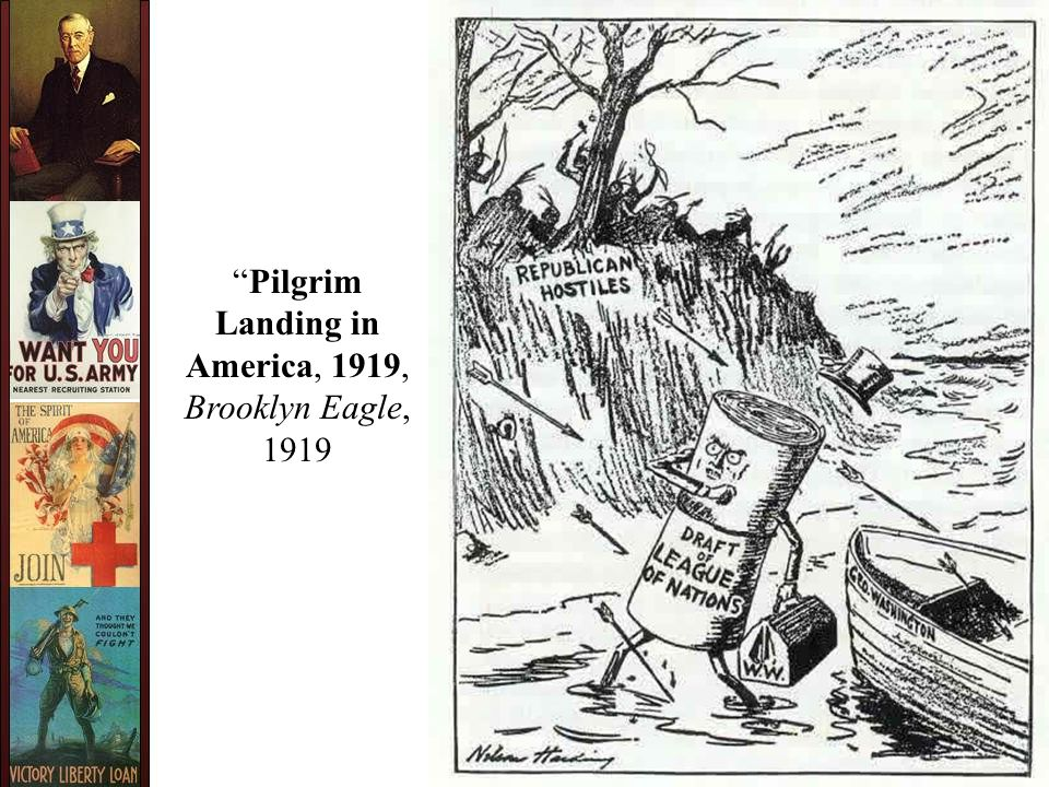 Pilgrim Landing in America, 1919, Brooklyn Eagle, 1919