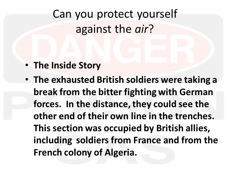 What is going on.The resting British soldiers noticed a curious thing.
