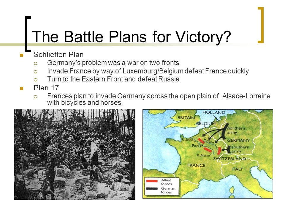 The Battle Plans for Victory.