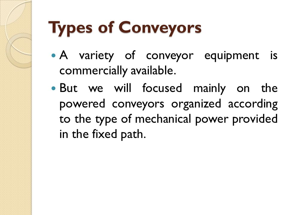 Conveyor Operations and Features Asynchronous conveyors operate with a stop- and-go motion in which loads, usually contained in carriers (e.g., hooks, baskets, carts), move between stations and then stop and remain at the station until released.