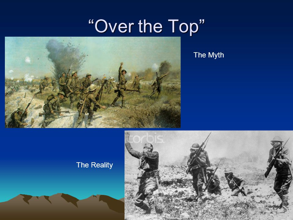 Over the Top The Myth The Reality