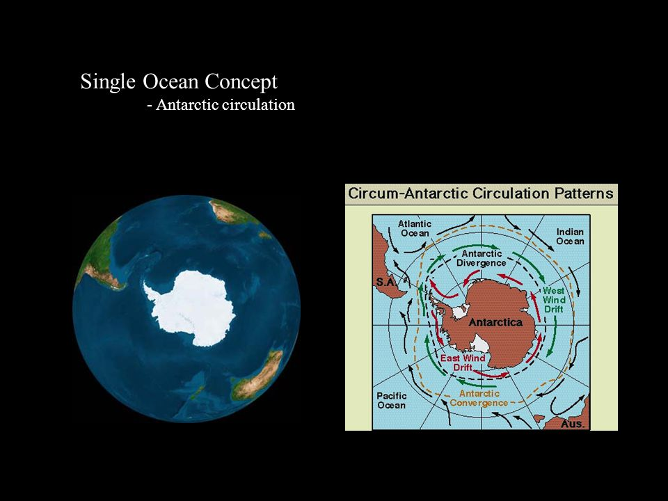 Single Ocean Concept - Antarctic circulation