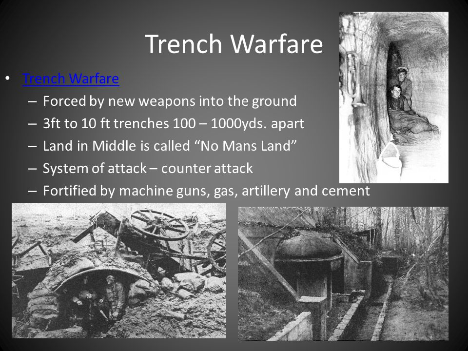 Western Front Trench Warfare on French- German Boarder – 500 miles of Trench from North Sea to the Alps – 1 – 10 miles across – Battles Verdun, Marne, Somme Valley German Hindenburg Line German Hindenburg Line