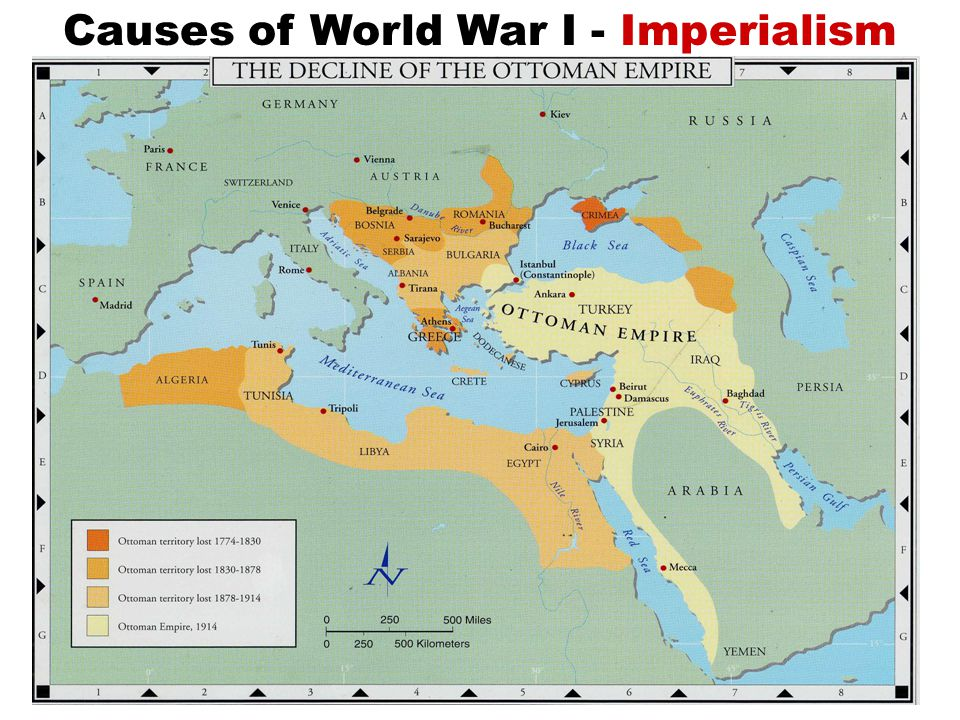 Imperialism: European conquest of Africa and Asia