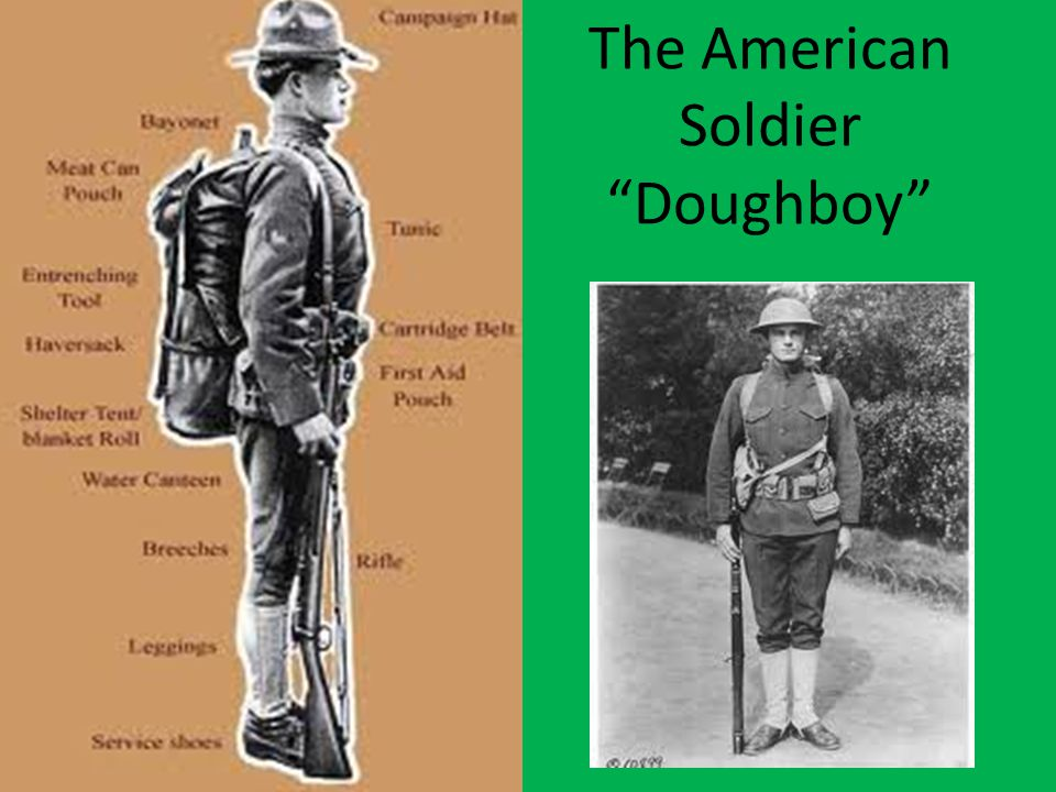 "The American Soldier ""Doughboy"""