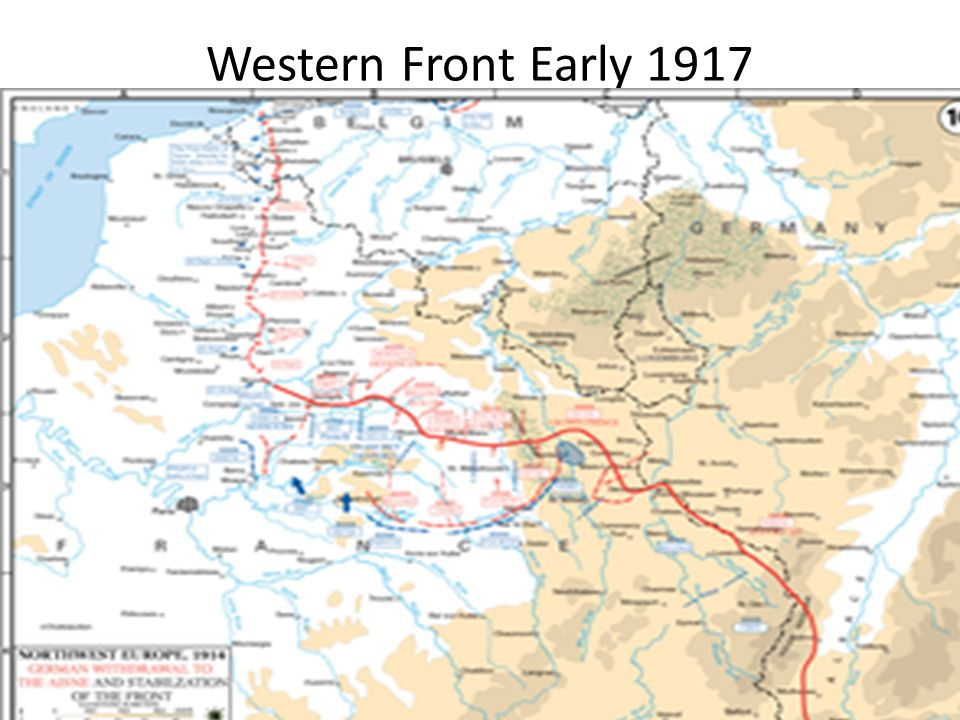 Western Front Early 1917