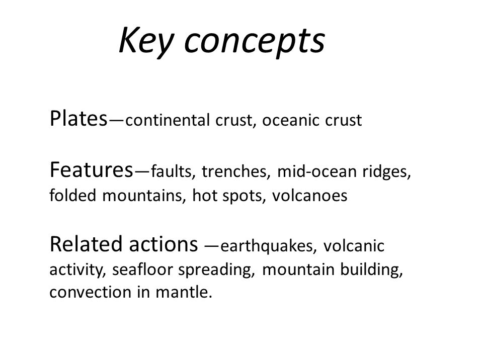 What are the plates made of.Ocean plates are made of basalt.