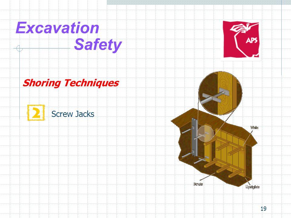 19 Excavation Safety Shoring Techniques Screw Jacks