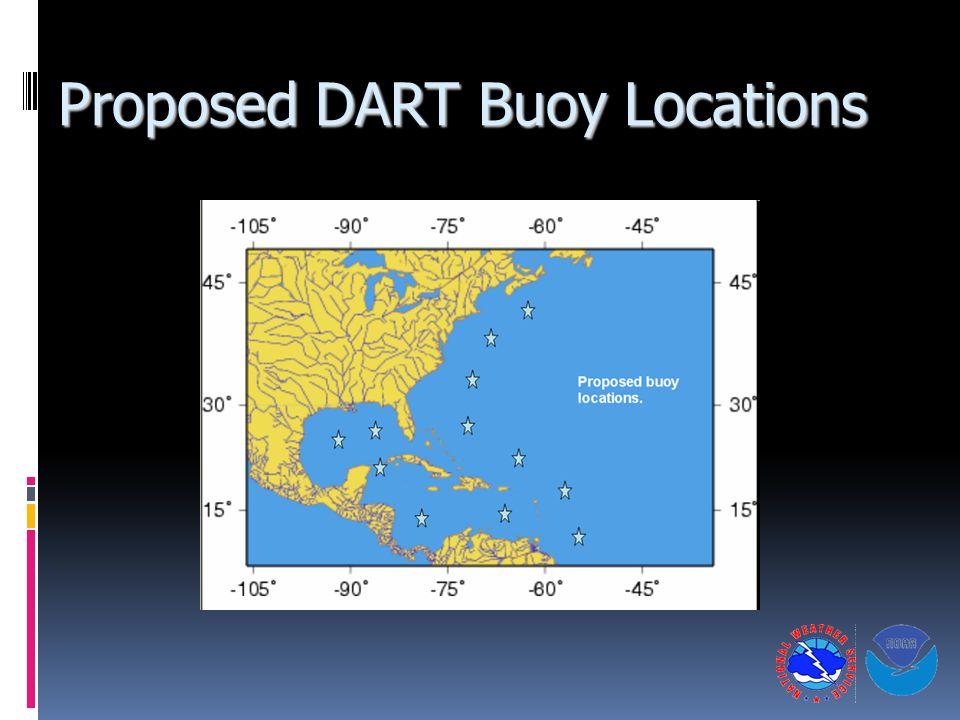 Proposed DART Buoy Locations