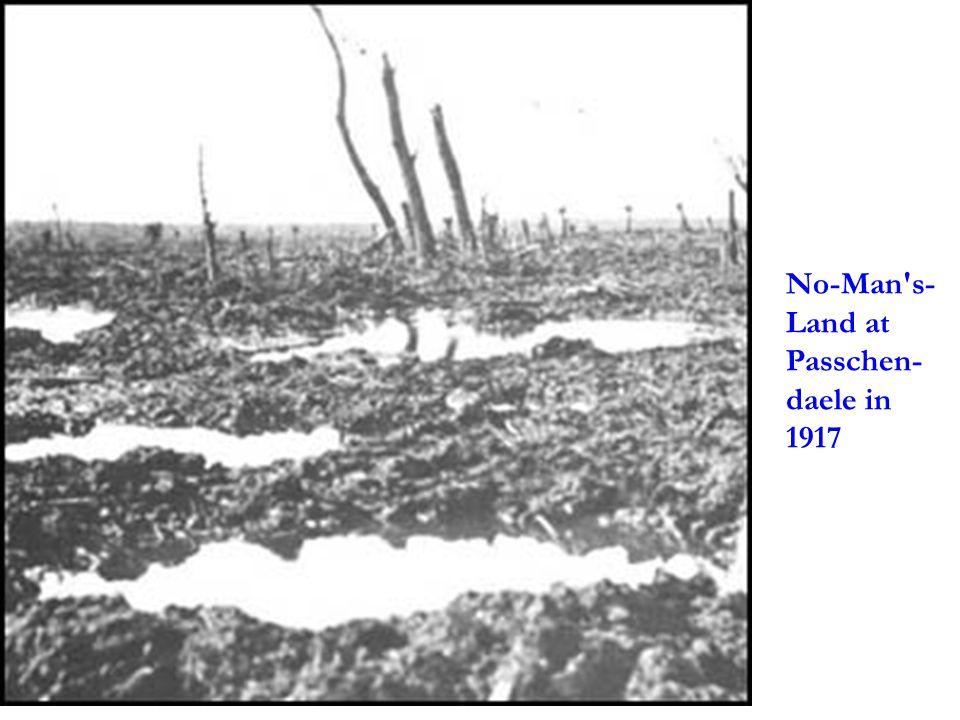 No-Man's- Land at Passchen- daele in 1917