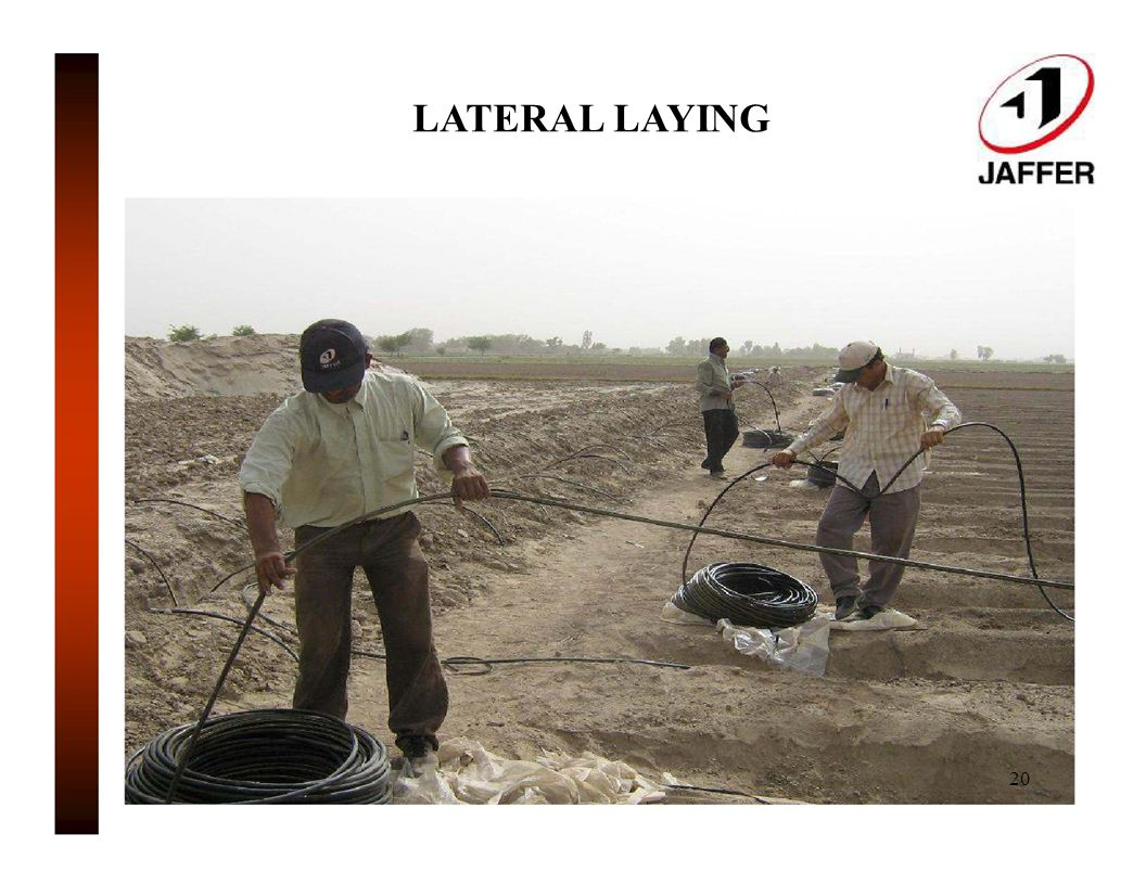 LATERAL LAYING 20