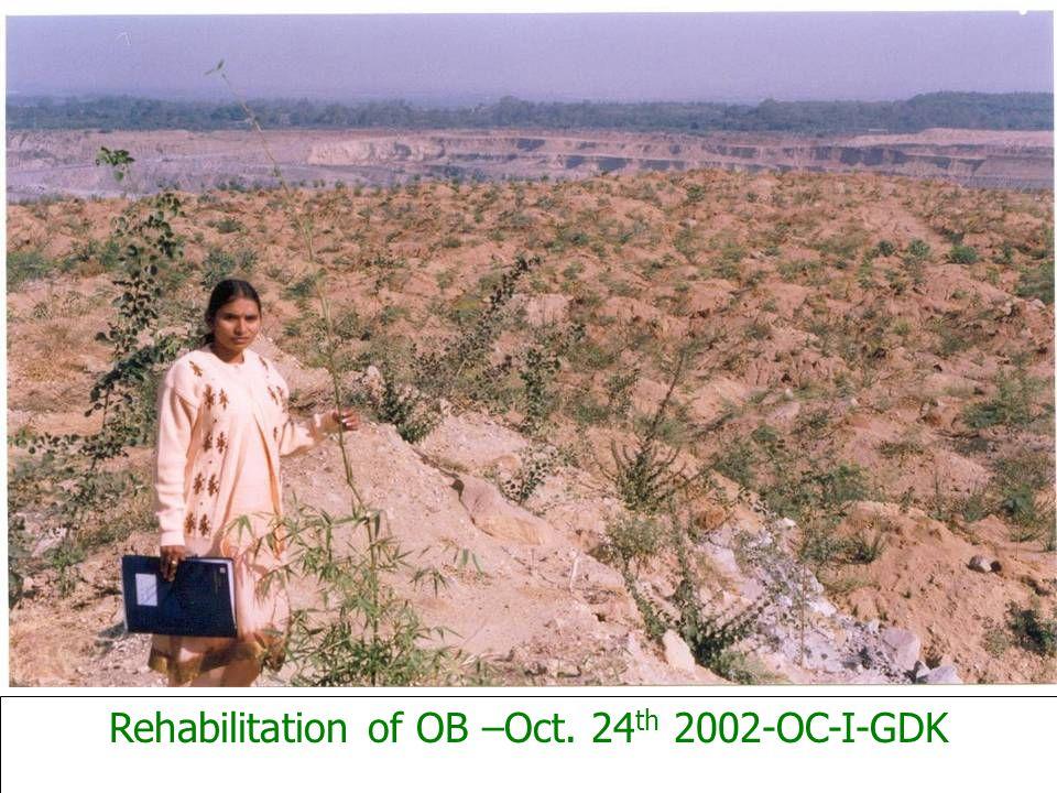 Rehabilitation of OB –Oct. 24 th 2002-OC-I-GDK
