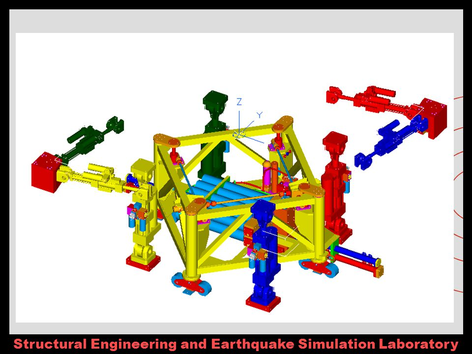 Structural Engineering and Earthquake Simulation Laboratory Shake Tables