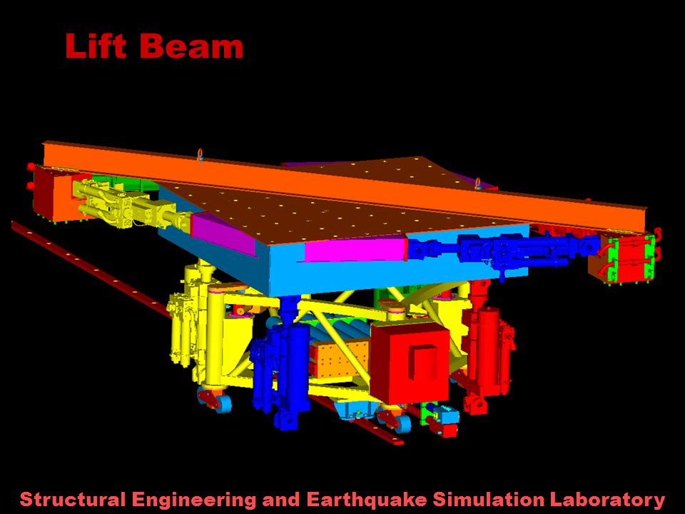 Structural Engineering and Earthquake Simulation Laboratory Lift Beam