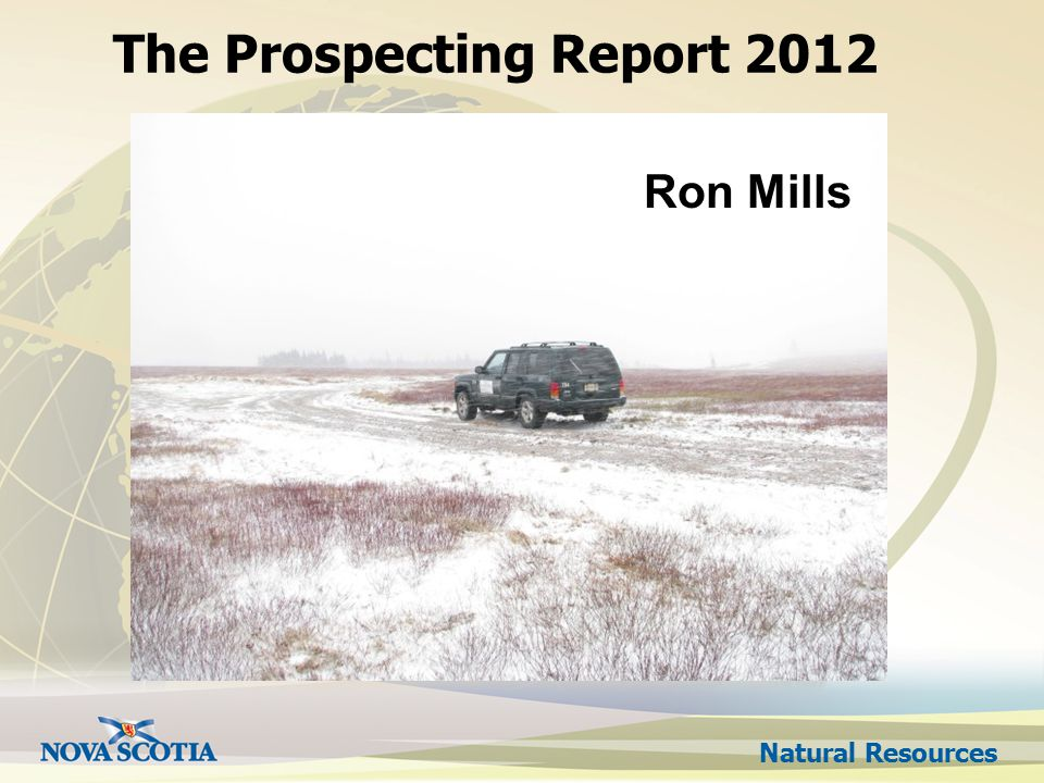 Natural Resources The Prospecting Report 2012 Ron Mills