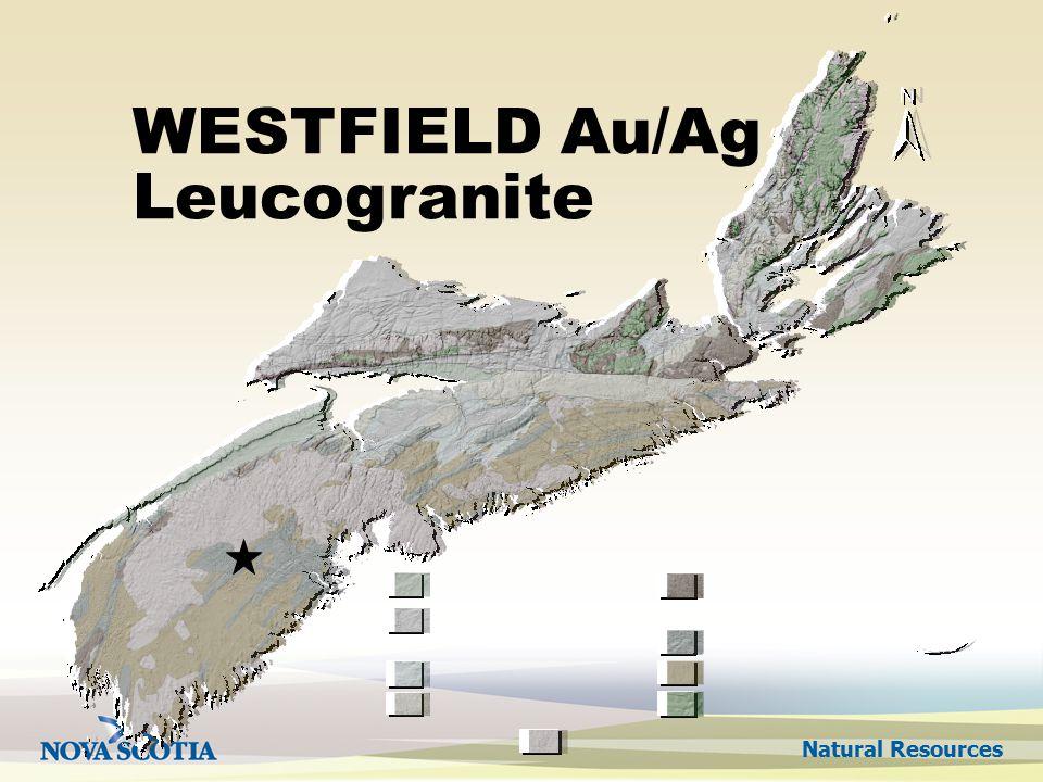 Natural Resources WESTFIELD Au/Ag Leucogranite