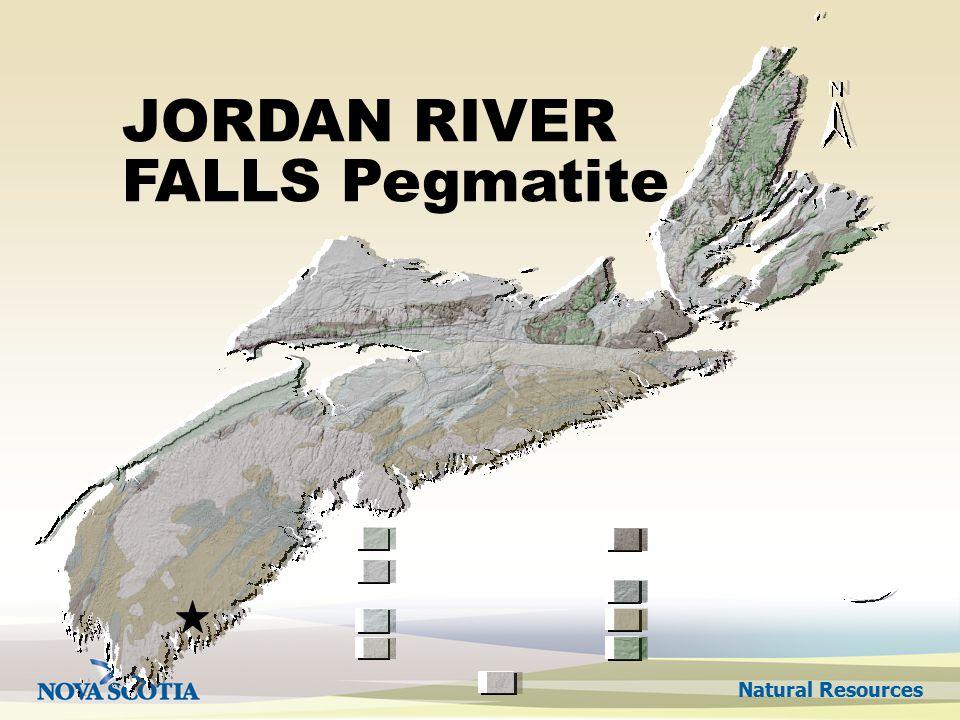 Natural Resources JORDAN RIVER FALLS Pegmatite
