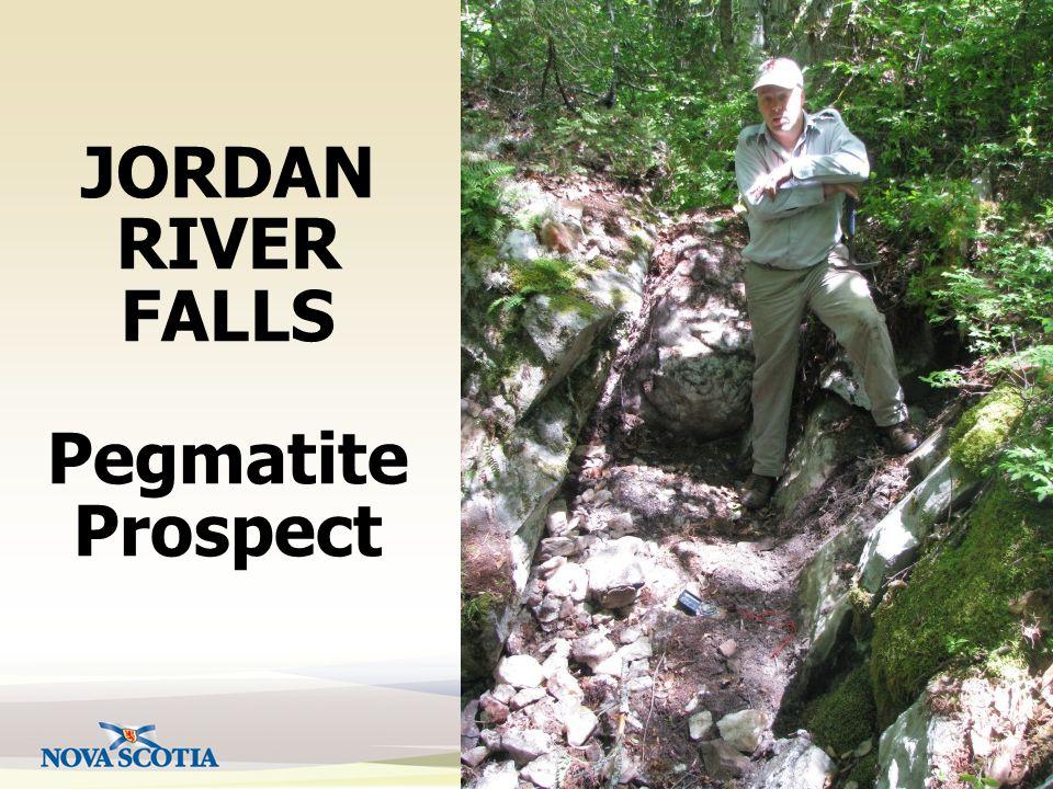 Natural Resources JORDAN RIVER FALLS Pegmatite Prospect