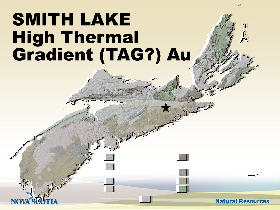Natural Resources SMITH LAKE High Thermal Gradient (TAG ) Au