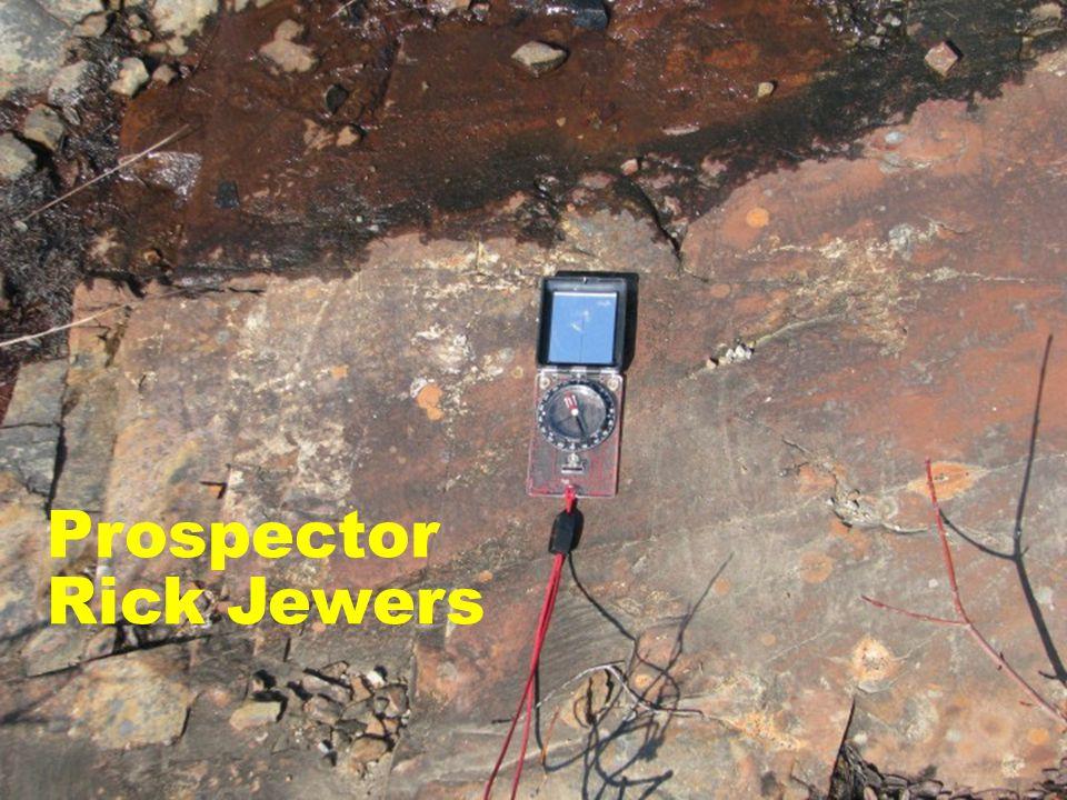 Prospector Rick Jewers