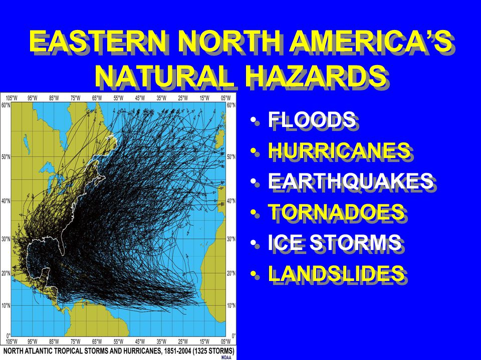 WESTERN NORTH AMERICA'S NATURAL HAZARDS FLOODS EARTHQUAKES TSUNAMIS VOLCANIC ERUPTIONS WILDFIRES LANDSLIDES FLOODS EARTHQUAKES TSUNAMIS VOLCANIC ERUPTIONS WILDFIRES LANDSLIDES