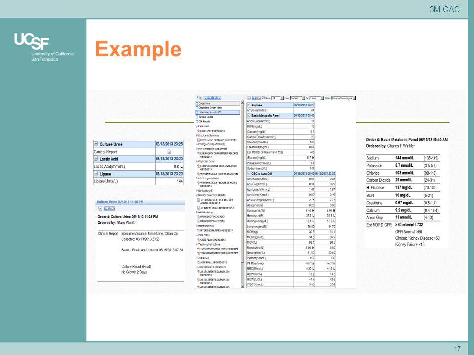 Example 17 3M CAC