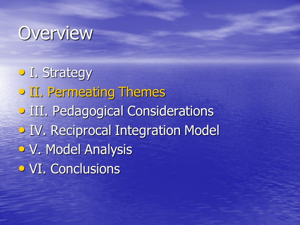 Charge Provide flexibility to accommodate new knowledge Provide flexibility to accommodate new knowledge Improve of basic, clinical, social sciences Improve integration of basic, clinical, social sciences Address patient & societal needs Address patient & societal needs Provide clinical experience Provide earlier clinical experience Encompass competencies Encompass competencies Promote learning Promote student-centered learning –Personal wellness exploration –Continuity of care clerkship (mentorship) –Greater schedule flexibility –Call to re-evaluate evaluation methods Maximize use of educational & informational technologies Maximize use of educational & informational technologies Enable individualized progress Enable individualized progress