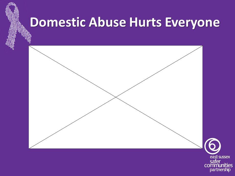 Domestic Abuse Hurts Everyone