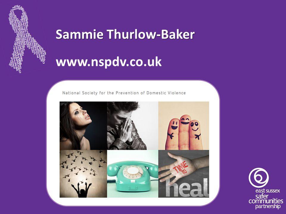 Sammie Thurlow-Baker www.nspdv.co.uk