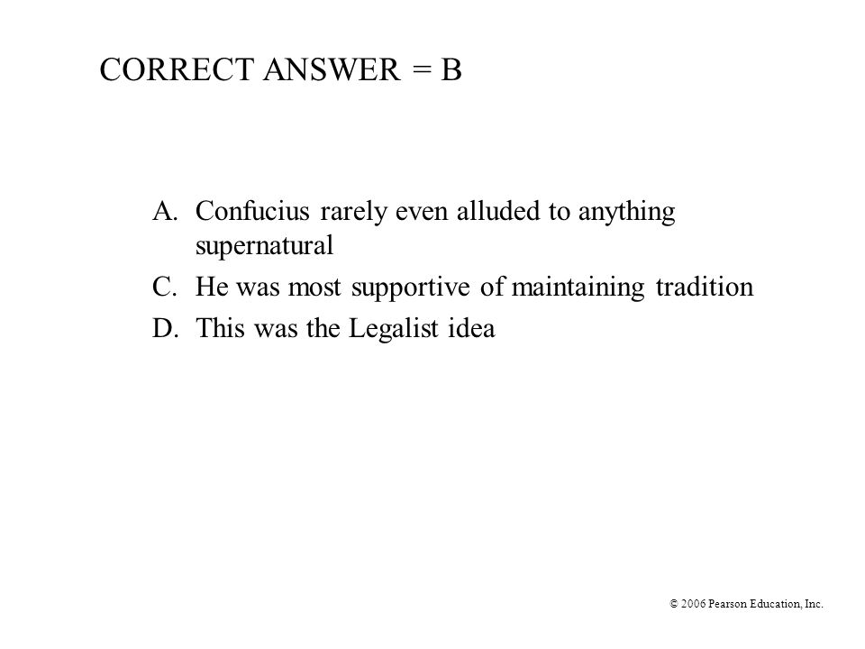 © 2006 Pearson Education, Inc.13.What was not one of the T'ang Period's accomplishments.