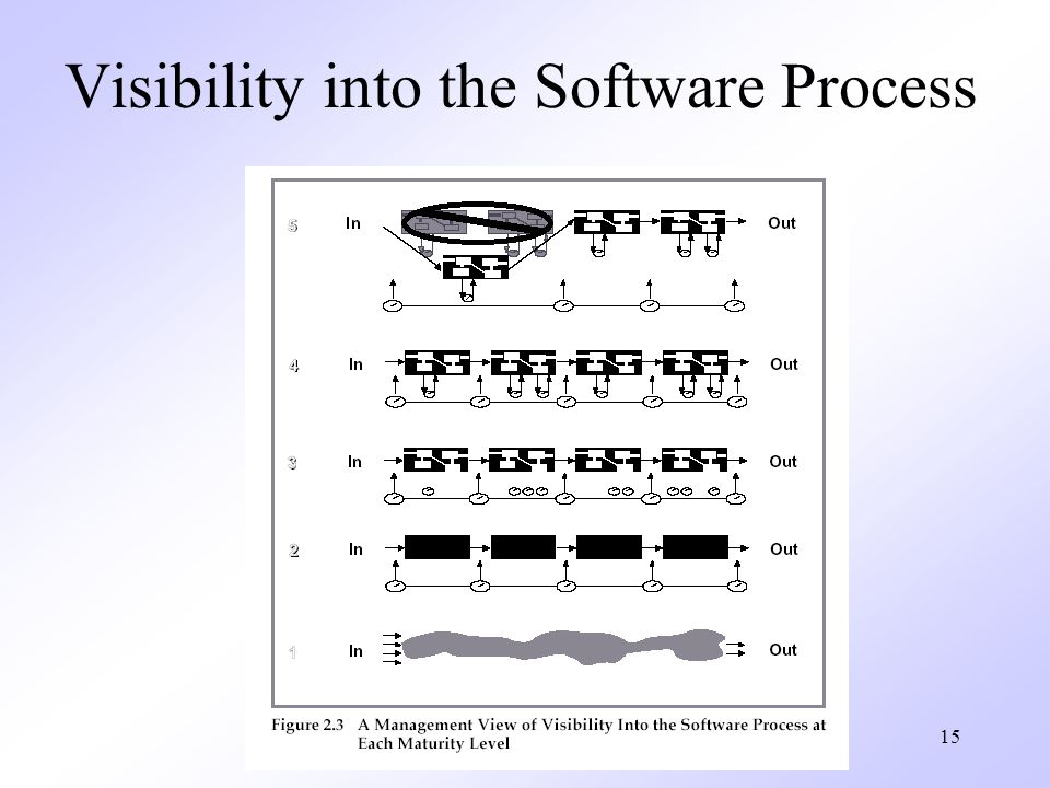 15 Visibility into the Software Process