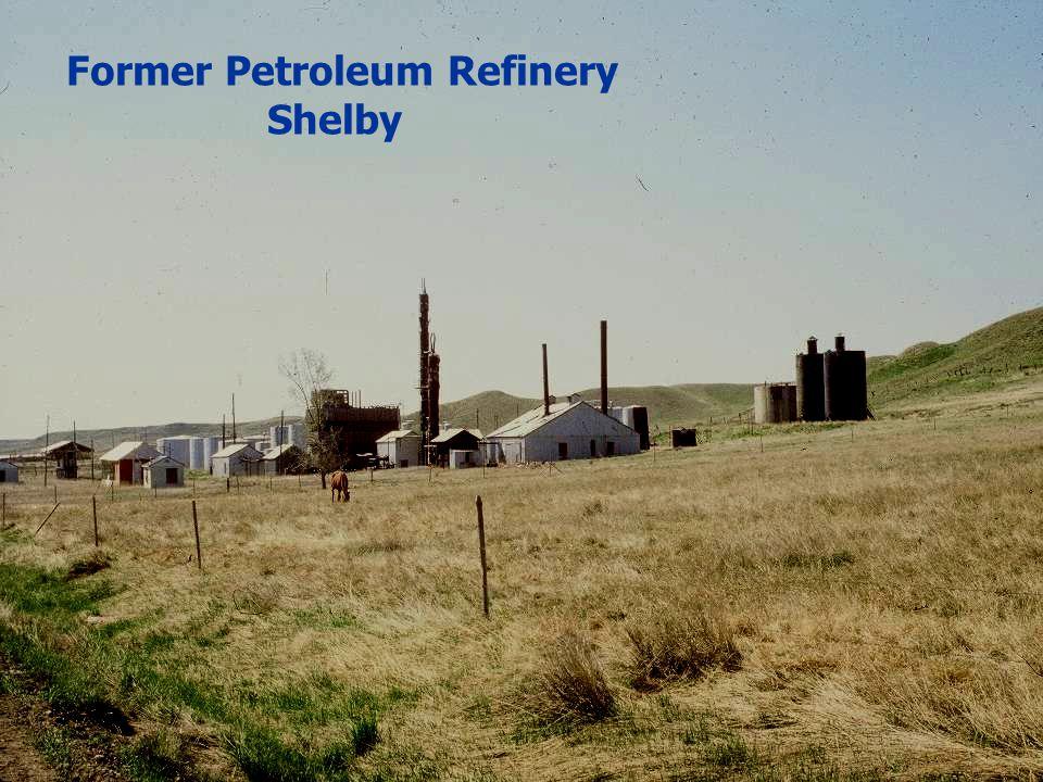 Former Petroleum Refinery Shelby