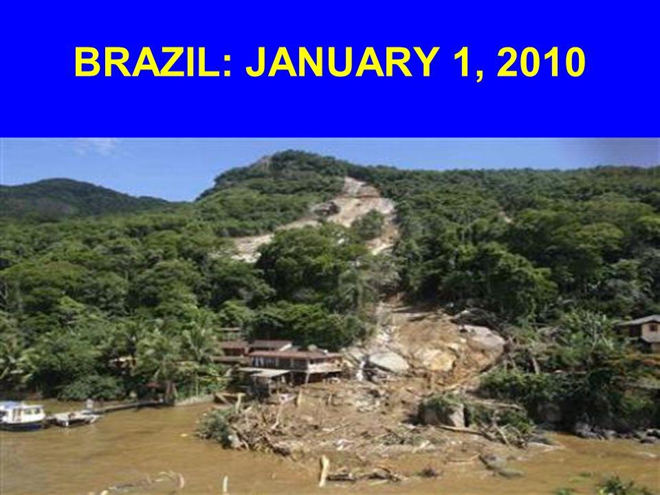 BRAZIL: JANUARY 1, 2010