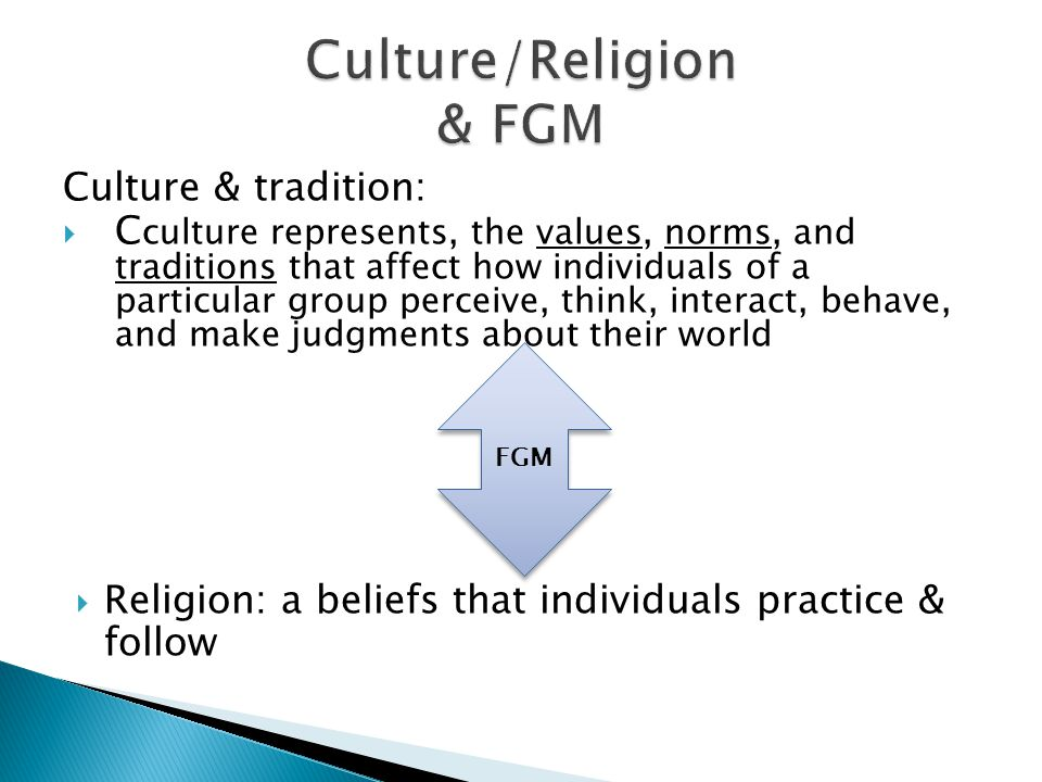 Culture & tradition:  C culture represents, the values, norms, and traditions that affect how individuals of a particular group perceive, think, inte